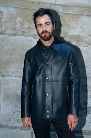 justin theroux attends the louis vuitton show as part of the paris fashion week womenswear fall