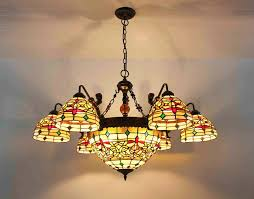 image of stained glass ceiling fan pictures