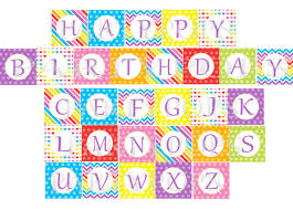 Printable Happy Birthday Banner Letters Il 570xn 457865009 Omrm