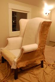 Naked chair. Take a breath, look at your handiwork. Then get back to work.  It's not going to recover itself.