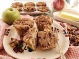 apple cranberry walnut muffins