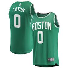 He boston celtics didn't make it to the nba's biggest stage, but they still boasted two of the league's most visible players in the orlando bubble. Men S Fanatics Branded Jayson Tatum Kelly Green Boston Celtics Fast Break Replica Jersey Icon Edition