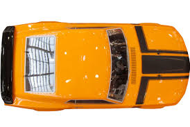 ford mustang top view. hpi racing¨ 1/5 baja 5r 1970 ford mustang boss 302 gas rtr - top view v