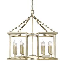 golden lighting bellare 8 light white gold chandelier