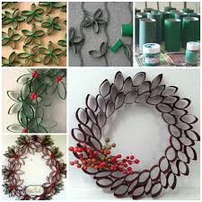 view in gallery paper roll wreath f wonderful diy unique wreath from paper rolls
