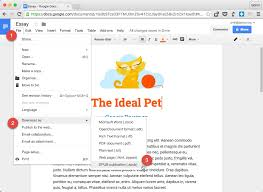 Google Doc Format How To Make Epub Ebooks With Google Docs