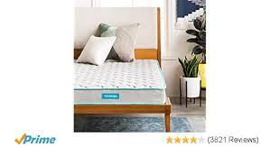 Amazon.com: Linenspa 6 Inch Innerspring Mattress - Twin: Kitchen ...