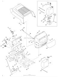 Mtd 13a1762f029 2009 parts diagram for hood style 2 diagram hood style 2
