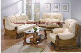 furniture teak wood sofa set