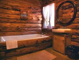 Great Rustic Cabin Bathroom Bathrooms Sinks .