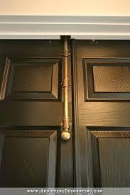 bifold closet door locks bi fold closet doors turned into double doors 9 how to lock