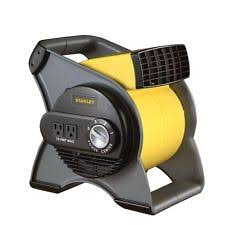 high velocity fan stanley 3 speed high velocity pivoting durable utility blower fan 2 outlets