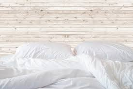 white bed sheets background. Delighful Bed Close Up White Bedding Sheets And Pillow On Wooden Wall Room Background  Messy Bed Concept U2014 Photo By PhanuwatNandee On White Bed Sheets Background