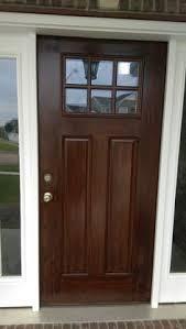 painting new steel entry doors. metal door painted to look like wood! certapro painters of bloomington peoria · exterior house paintspainting painting new steel entry doors p