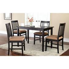metal chairs walmart chair metal chairs fresh mainstays 5 piece dining set with rich espresso finish