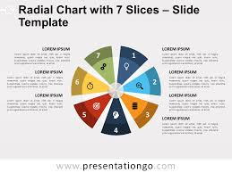 Venn Diagram Google Slides Radial Chart With 7 Slices For Powerpoint And Google Slides