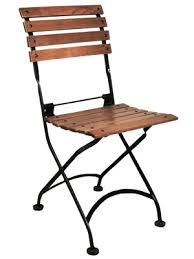 french bistro chairs metal. amazing french cafe bistro 2 seat folding bench black frame african teak chairs ideas metal m