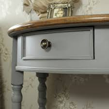 half moon console table. Admiral Range - Half Moon Console Table With Drawer And Shelf H