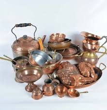 Copper Kitchen Items .