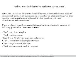 Underwriting Assistant Cover Letter Top Property Management ...