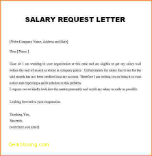 Salary Certificate Request Letter Best Of Bunch Ideas 5 Salary