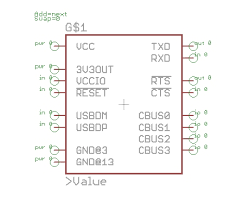 designing pcbs smd footprints learn sparkfun com the g is wrong for integrated circuits we normally use u and the is super annoying and looks bad on the schematic