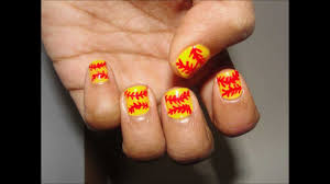 Softball Nail Designs | Graham Reid