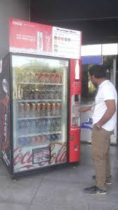 Automatic Vending Machine In India New Automatic Vending Machine At Airport YouTube