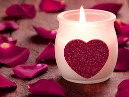 Candle Heart Shape Pot HD Wallpaper ...