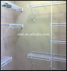 Plastic Coated Wire Racks Enchanting Plastic Coated Metal Wire Shelves For Closet Shelving Wire Buy