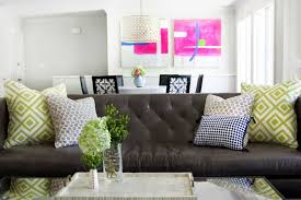 Dark Brown Leather Sofa Decorating Ideas Cookwithalocal Home And