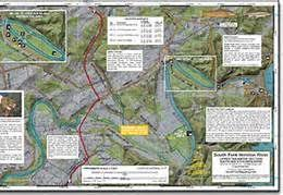 Tennessee Fly Fishing Map South Holston River Fishing