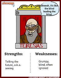 teiresias in oedipus the king character analysis