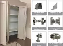 overlay bi folding door and components