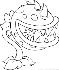 Plants Vs Zombies Coloring Pages Peashooter All Elegant Zombie