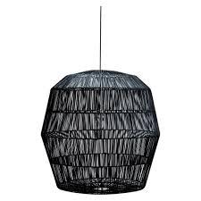 Rotan Hanglamp Zwart Ritchie
