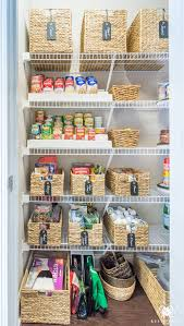 diy pantry organizing ideas wire shelving organization easy organization for the kitchen pantry