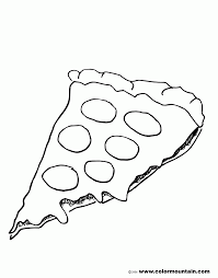 Small Picture Pizza Coloring Pages Coloring Home