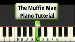 Free shipping on orders over $25 shipped by amazon. Easy Piano Tutorial The Muffin Man Youtube
