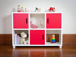 Children's Room : Unique Beautiful Design Box Shelves In Kid's Room Playroom  Shelves For Children With Toy Cabinets Storage Organizing Bookshelves And  ...