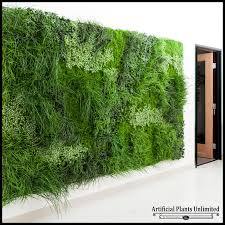 x plush wall: click to enlarge lush indoor artificial living wall in l x in h