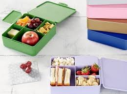 PBK spencer bento box containers image 8 Lunch Box Necessities Currently On Sale at Pottery Barn Kids
