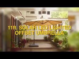 home depot 11ft offset solar led