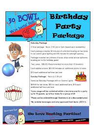 30 Bowl Parties Birthday Parties