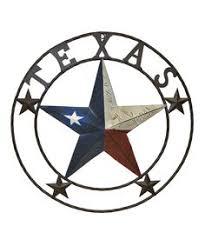 texas star metal wall art