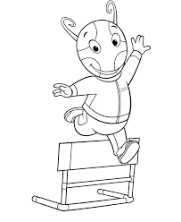 Small Picture Backyardigans Coloring Pages Coloring Home