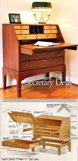 secretary desk plans furniture plans and projects woodwork woodworking woodworking plans woodworking projects
