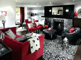 Black Furniture Living Room Ideas Inspiration Excellent Red And Black Living Room Set White Cheap Furniture Sofa