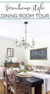 dining room tour see an update of our modern farmhouse style dining room high