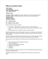 Examples Letter Of Complaint To A Business - Hollywoodcinema.us